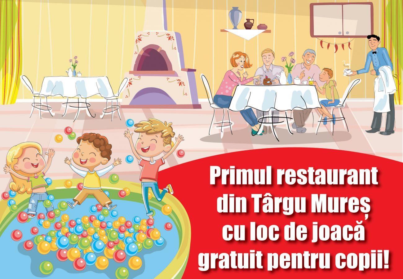 Loc de joaca gratuit pentru copii